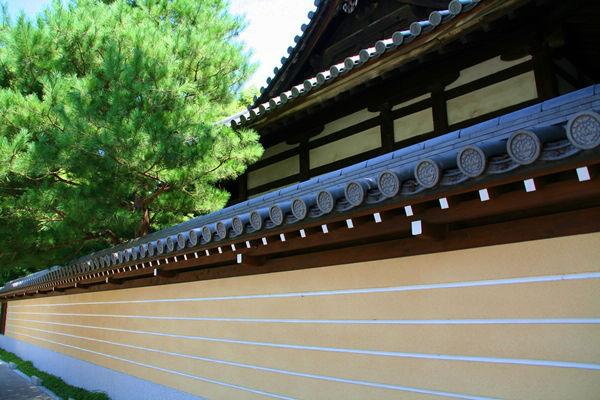 承天寺の白壁