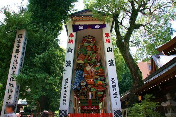 櫛田神社の飾り山