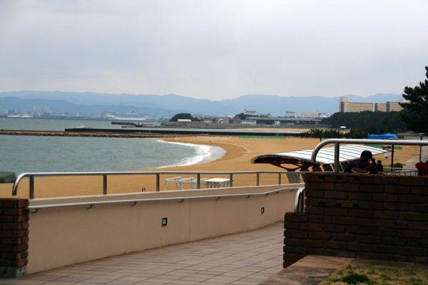 シーサイドももち海浜公園のビーチ