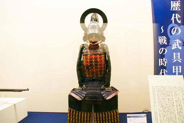 初代藩主宗茂の着用した甲冑